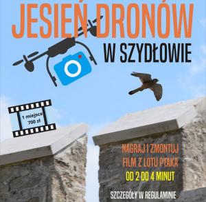 Jesień dronów w Szydłowie - konkurs na najlepszy film