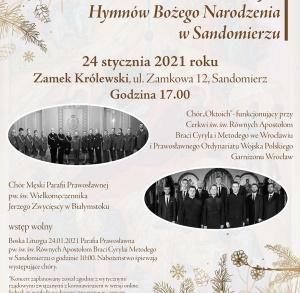 VII Koncert Kolęd i Prawosławnych Hymnów Bożego Narodzenia w Sandomierzu