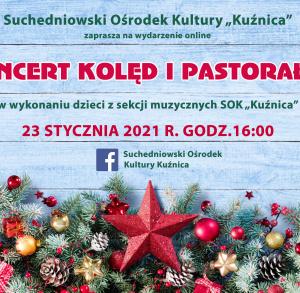 Koncert kolęd i pastorałek w Suchedniowie