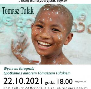 "Wystawa fotografii Tomasza Tułaka pt. ""Kolej transsyberyjska, Bajkał"""