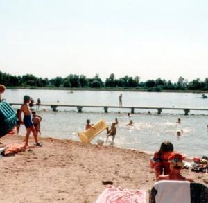 Radzanów - public beach