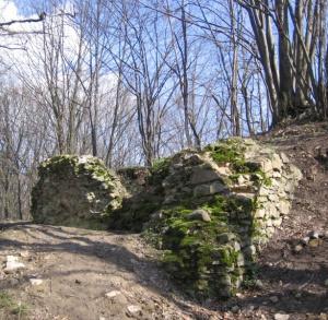 Ruiny zamku w Rembowie