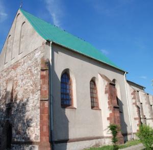 Kościół i klasztor pofranciszkański w Chęcinach