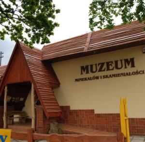 Galeria minerałów i skamieniałości w Św. Katarzynie