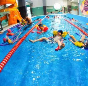 Kryta pływalnia Powiatowego Centrum Sportowego w Staszowie