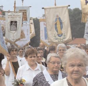 Parish Fair at Post-Camaldolese Monastery at Rytwiany