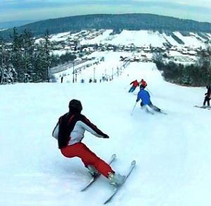 Wyciąg narciarski w Tumlinie
