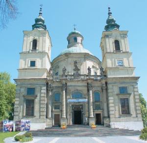 St Joseph Collegiate Church in Klimontów