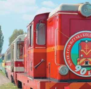 Ponidzie Express Narrow-Gauge Train