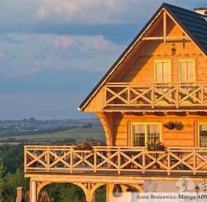 Basiówka - domek w stylu góralskim