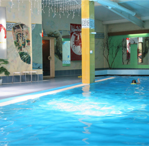 "Indoor Swimmig Pool of ""Senator"" Hotel in Starachowice"