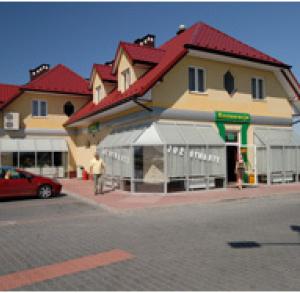 Motel stacja paliw BP