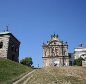 Towards the Holy Cross