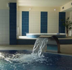 Indoor Swimming Pool in KAMERALNY Hotel in Kielce