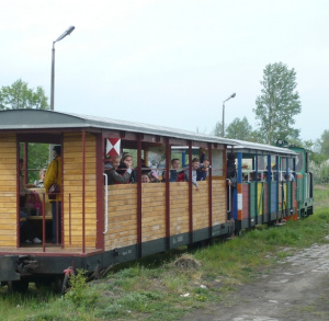 The Narrow-Gauge Railway in Starachowice