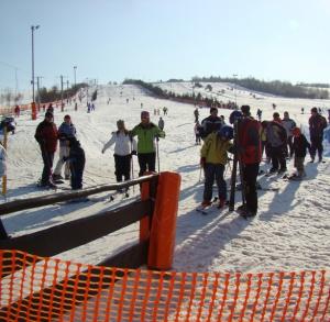 Krajno-Zagórze – the Sabat skiing slope