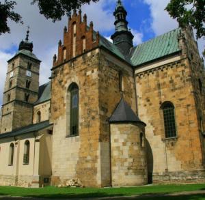 """St Martin the Bishop""""s Parish Church in Opatów"""