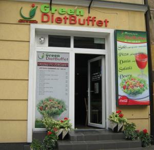 GREEN DIET BUFFET