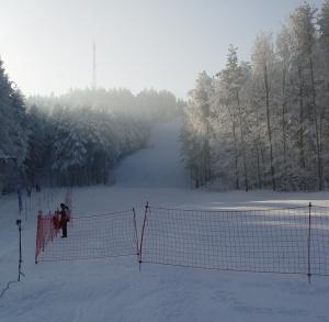 Wyciąg narciarski na Górze Telegraf w Kielcach