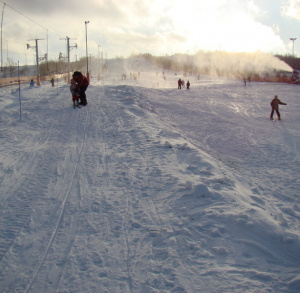 Wyciąg narciarski w Krajnie