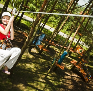 Afor Adventure Park in Borków