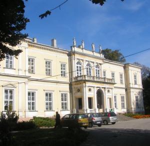 Wielopolski-Family Palace in Chroberz