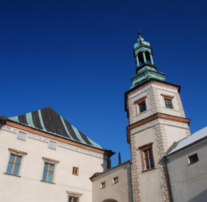 Former Bishops Palace in Kielce
