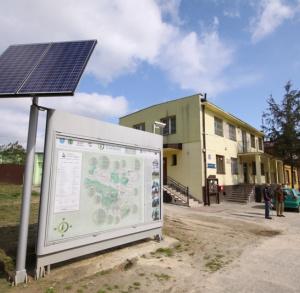 Tourist Information Point in Nowa Słupia