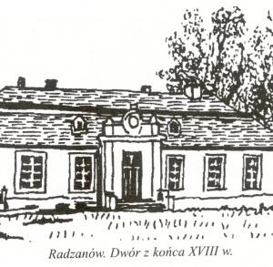 Dwór w Radzanowie