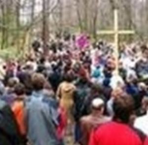 Świętokrzyskie Calvary from Nowa Słupia to Święty Krzyż