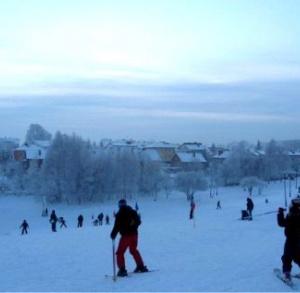 Słoneczna Mountain in Sandomierz - skiing slope