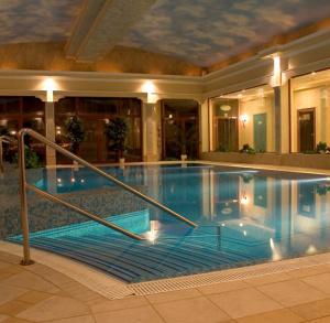 "Indoor Swimmig Pool of ""Malinowy Zdrój"" Hotel in Solec-Zdrój"