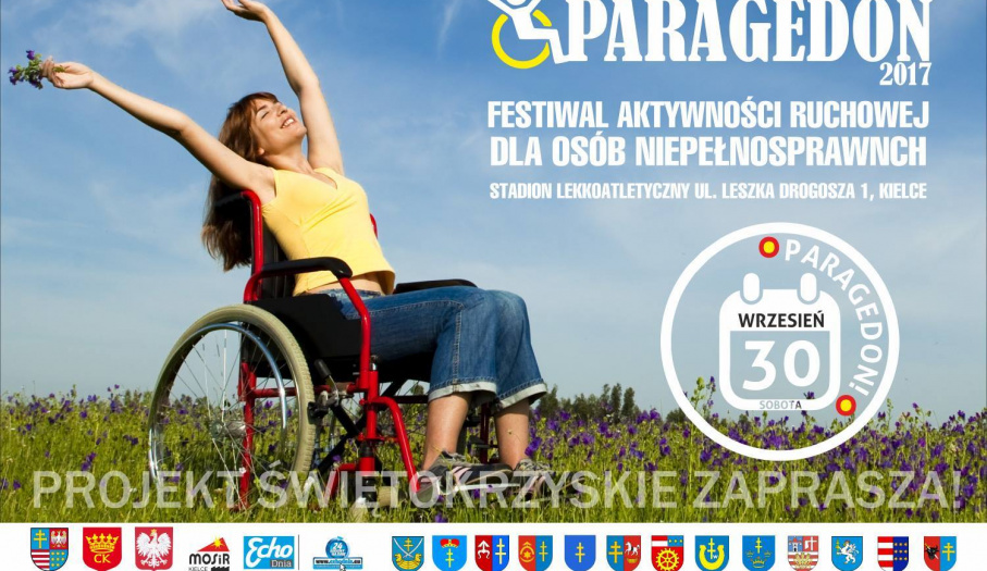 """""""Paragedon"""" – Festiwal aktywności ruchowej dla osób niepełnosprawnych"""