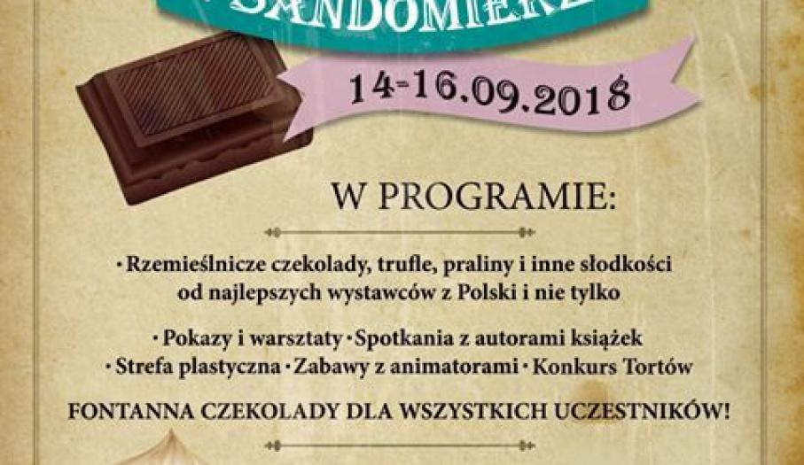 Festiwal Czekolady i Słodyczy w Sandomierzu