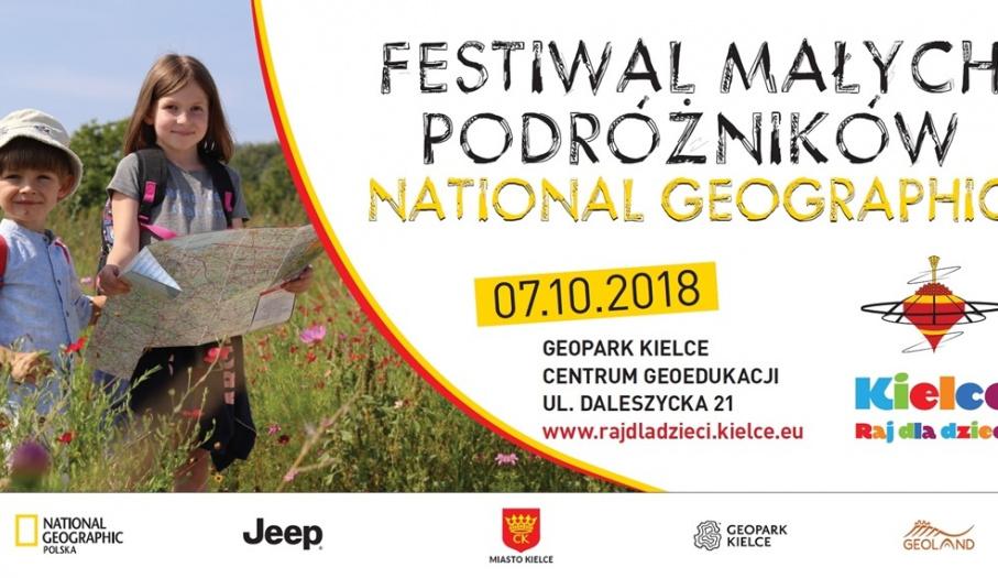 Festiwal Małych Podróżników National Geographic Polska w Kielcach