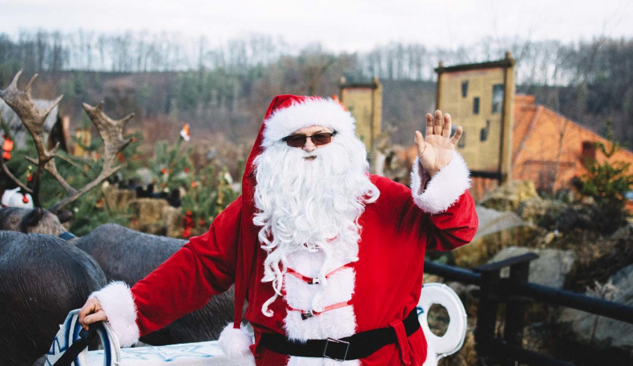 Wioska św. Mikołaja w Bałtowie - otwarcie