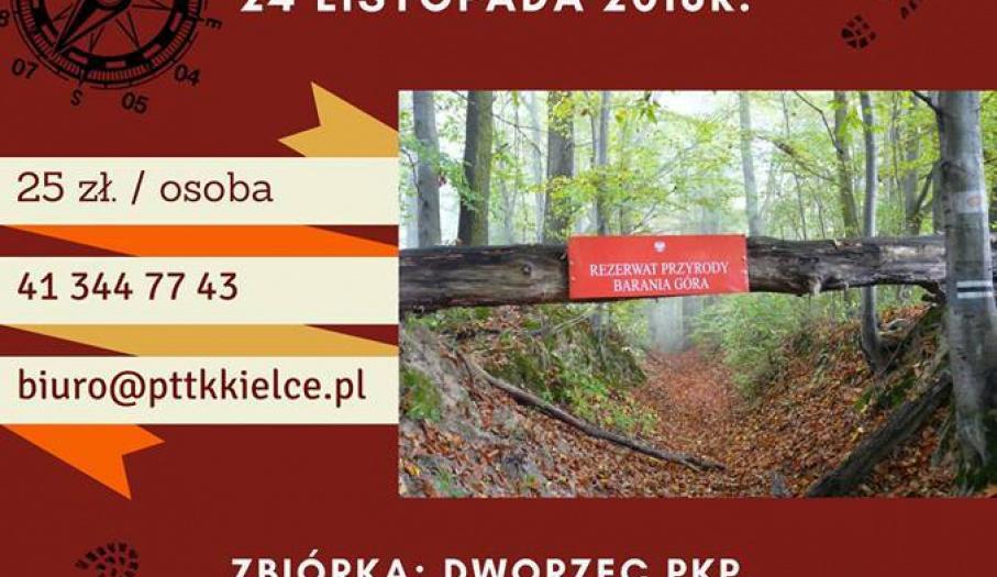 Turystyczne zakończenie sezonu w Górach Świętokrzyskich