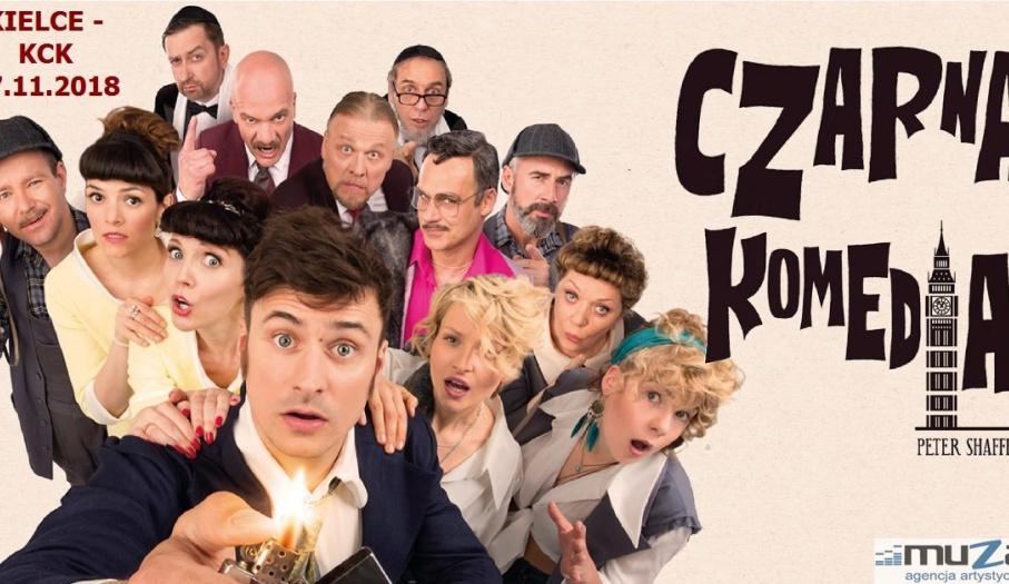 """Kielecka premiera spektaklu """"Czarna komedia"""" w KCK"""