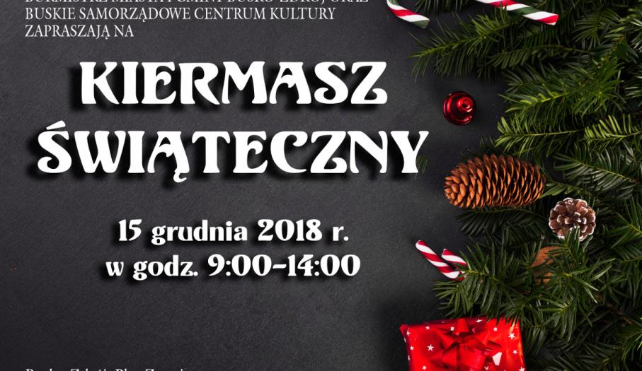Kiermasz świąteczny w Busku-Zdroju