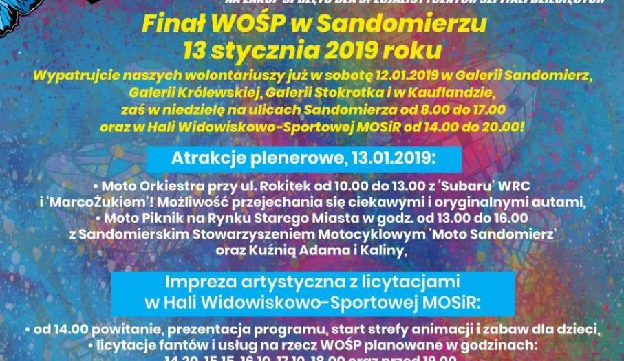 Finał WOŚP w Sandomierzu