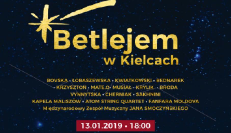 Koncert Betlejem w Kielcach