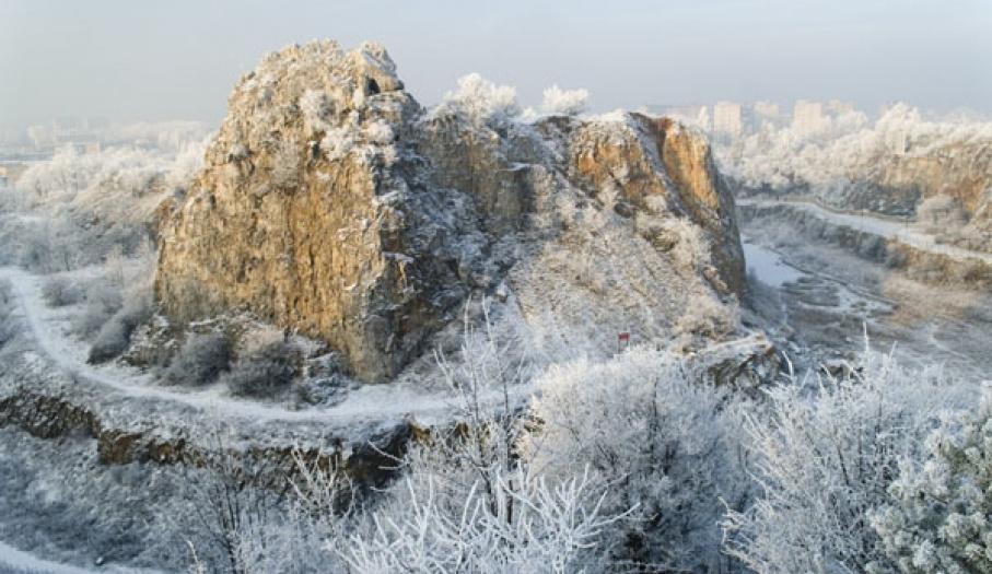 Kadzielnia zimową porą 2