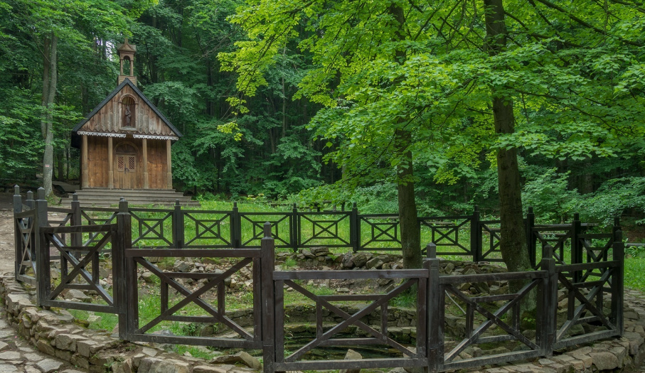 Saint Francis Chapel in Świętokrzyski National Park