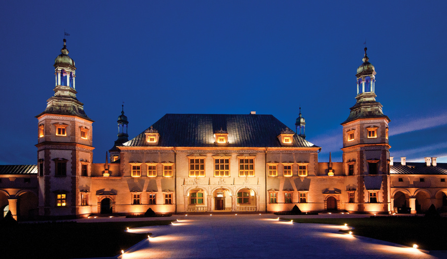 Former Cracow Bishops' Palace in Kielce