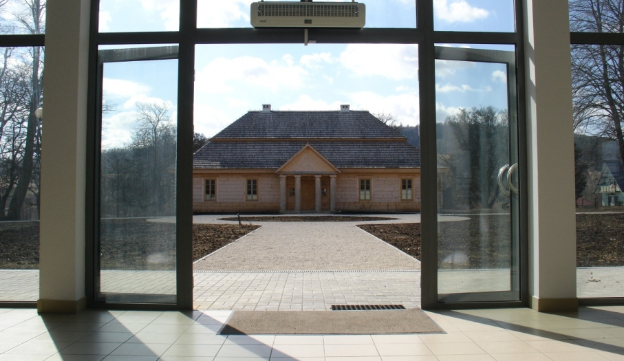 "Educational Centre ""Glass House"" - Stefan Żeromski Manor House in Ciekoty"