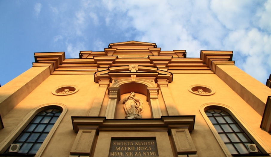 Cathedral in Kielce