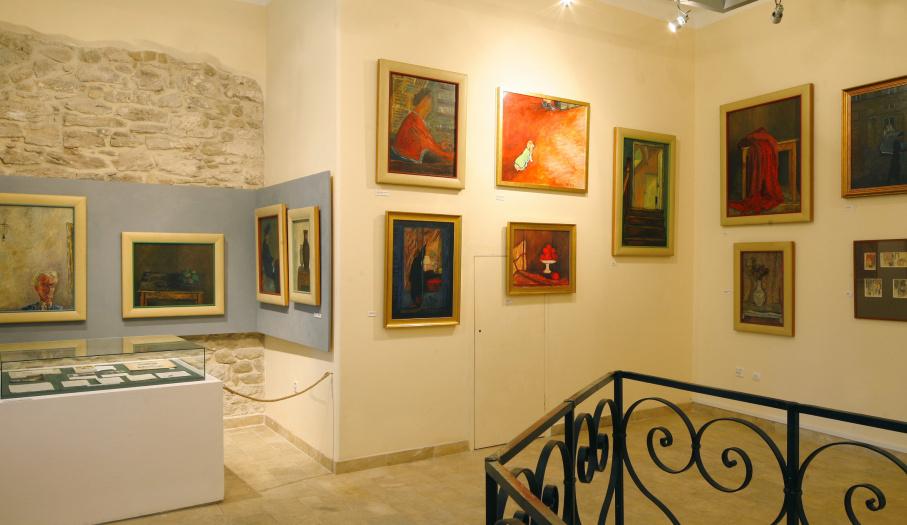 Pałac w Kurozwękach - Galeria obrazów Józefa Czapskiego