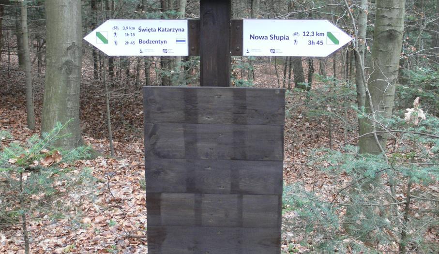 Szlak kolejki wąskotorowej przez Świętokrzyski Park Narodowy