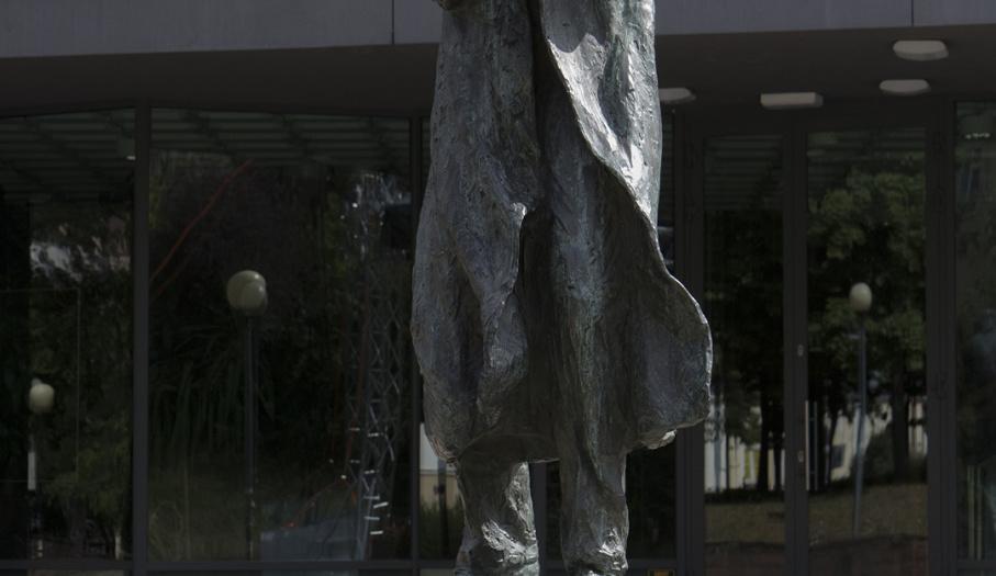 Pomnik Miles Davis przy Kieleckim Centrum Kultury