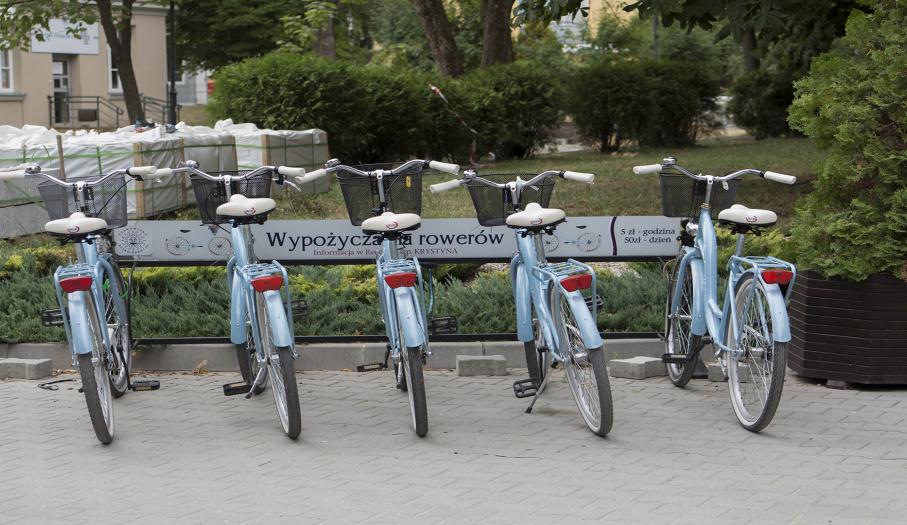 Wypożyczalnia rowerów Szpital uzdrowiskowy - KRYSTYNA
